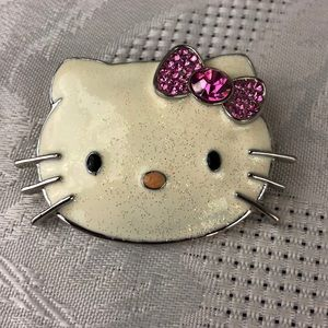 Adorable Hello Kitty brooch